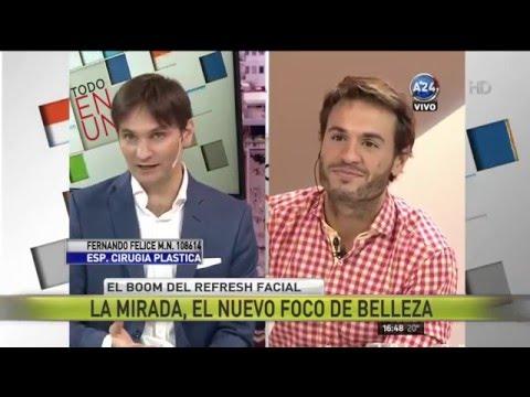Paula Trapani y Matias Dente entrevistan al Dr. Felice