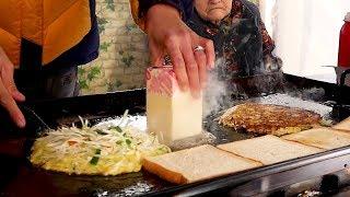 Grandmother's Toast - Korean Street Food