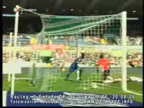Racing 1 - 4 Getafe (Liga Española 2009)