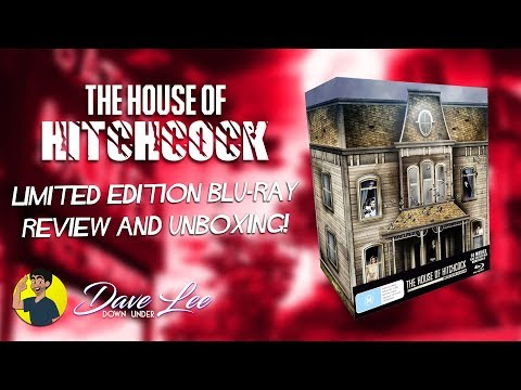 HOUSE OF HITCHCOCK - Blu-ray Review & Unboxing