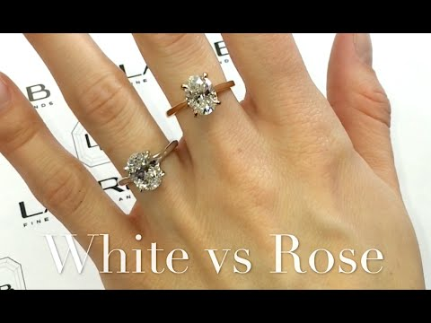Comparing 2 carat Oval Engagement Rings