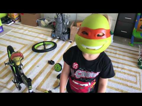 Teenage Mutant Ninja Turtles Boys 16 Youth Bike Kids Adventures with Sweetie Fella Aleks