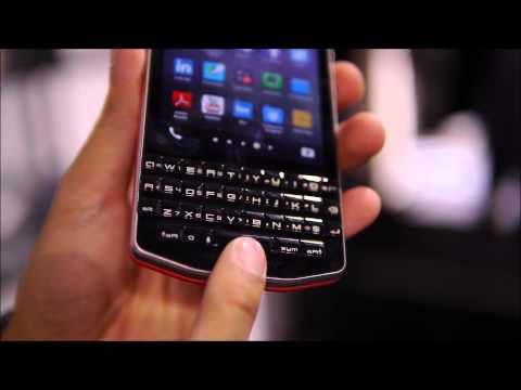 BlackBerry Porsche Design P'9983 hands-on