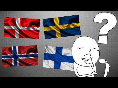 Почему некоторые флаги так похожи  - DomaVideo.Ru