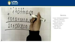 UTPL OPERACIONES BINARIAS  [(INFORMÁTICA)(FUNDAMENTOS INFORMÁTICOS)]