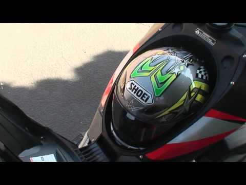 Scooter Walk Around Video - Aprilia SR 50 R Factory