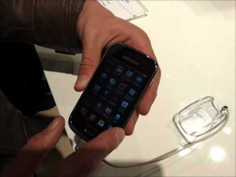 Samsung Galaxy Mini 2: Anteprima video al MWC 2012