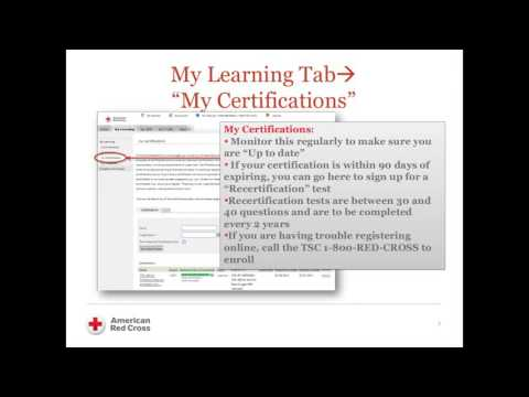 american red cross instructors corner login