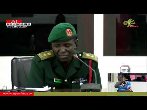 BUNJA DARBOE TRRC SITTING 19th JUNE 2019 PART 1