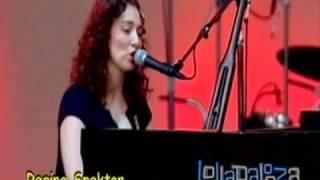 Regina Spektor - The Ghost of Corporate Future (Lollapalooza 2007)