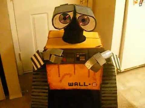 Homemade Walle Costume