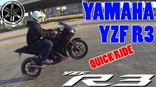 7. Yamaha R3 Quick Ride