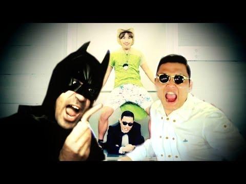 PSY BATMAN GANGNAM STYLE – davidekyo -