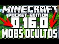 MINECRAFT PE 0.16.0 - MOBS OCULTOS WITHER , ENDER DRAGON , SHULKER Y MAS! (POCKET EDITION)