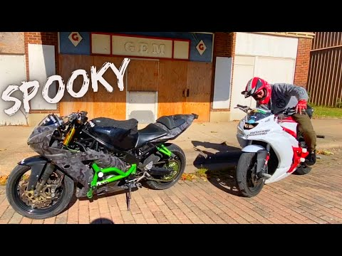 GHOST TOWN RIDING! (#HoodEats Eps. 28)