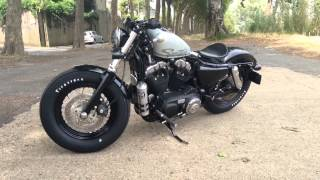 5. Sportster Harley Davidson Forty eight 2010