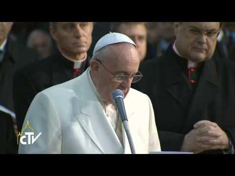 La preghiera del Papa alla Madonna a Piazza di Spagna