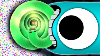 Wormate.io The ULTIMATE SNAKE vs 1000 DEAD WORMS // Best Moments in Wormateio Gameplay