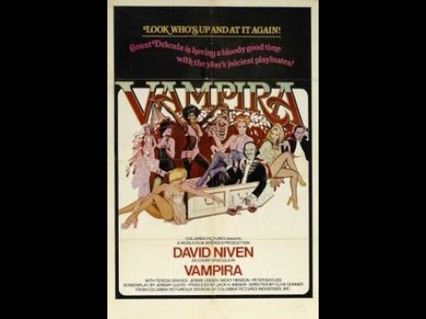 Vampira (Also Known As Old Dracula) British Horror Comedy Movie 1974