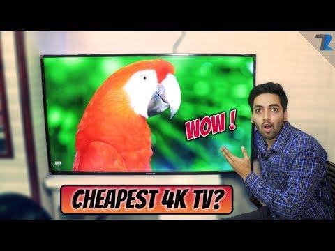 "Thomson 50""inch 4K UHD TV | CHEAPEST 4K TV UNDER 30K??"