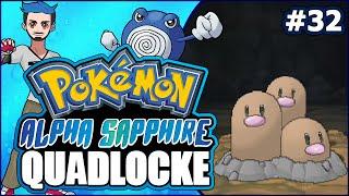 Pokémon AlphaSapphire Randomizer Quadlocke Part | 32 CAN YOU DIG IT? by Ace Trainer Liam