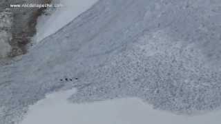 Goats Escape Avalanches