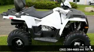 9. 2016 Polaris Sportsman Touring 570 EPS Bright White  - Ac...