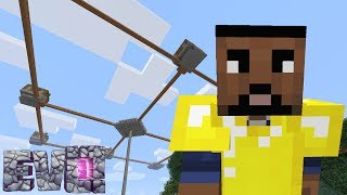 Building on the SkyWars Arena!
