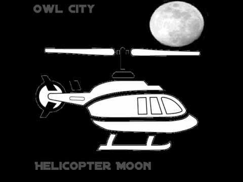 Tekst piosenki Owl City - Helicopter Moon po polsku