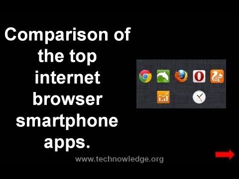 Video Chrome vs Firefox, Opera, UC Browser & Dolphin: smartphone internet browser apps comparison download in MP3, 3GP, MP4, WEBM, AVI, FLV January 2017