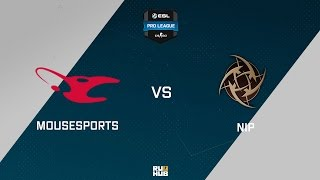 mouz vs NiP, game 1