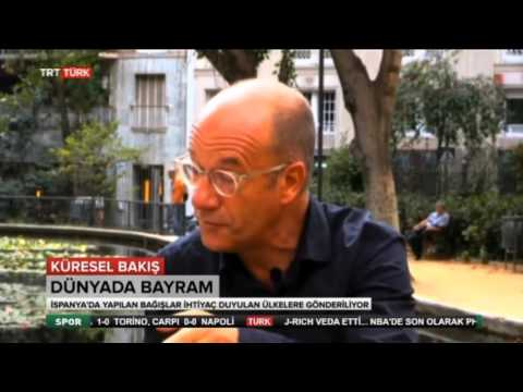 Halil Bárcena parla del sufisme i la Festa de l'Anyell a la televisió turca