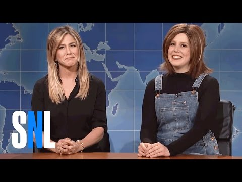 Weekend Update: Rachel From Friends On '90s Nostalgia - SNL