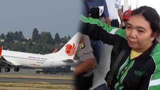 Video Wanita Driver Ojol Nangis Cerita Lihat Pesawat Lion Air Terbang Miring dan Keluarkan Asap MP3, 3GP, MP4, WEBM, AVI, FLV April 2019