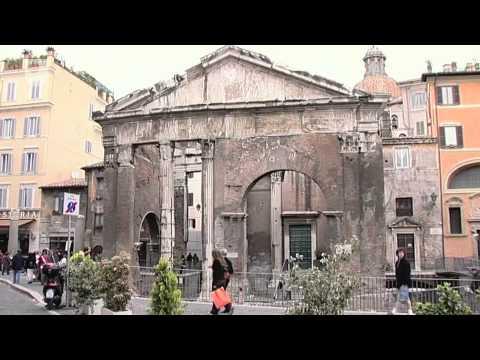 Der Portikus der Octavia - Gebäude des alten Roms (2/5)