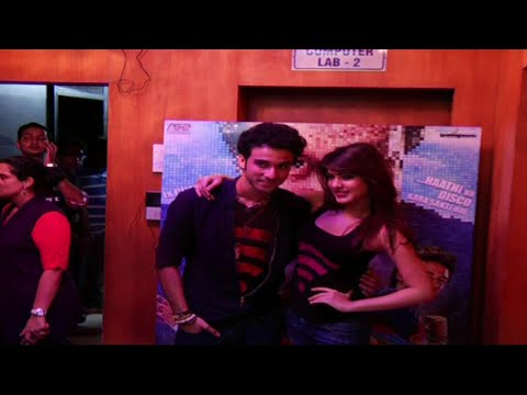 Promotion Of Movie Sonali Cable With Rhea Chakraborty, Raghav Juyal
