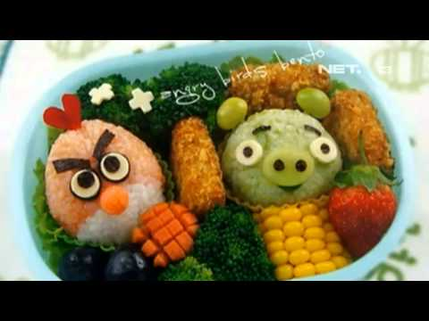 NET12 - Cara membuat bekal kreatif Bento dan dekorasi buah