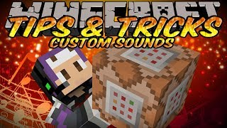 Minecraft Tips And Tricks - Custom Sounds with Resource Packs&Command Blocks!