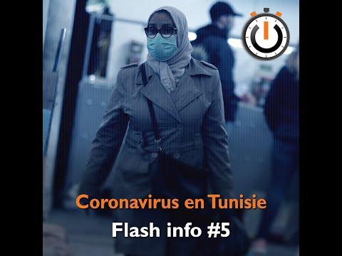 Nawaat Minute : Coronavirus en Tunisie – Flash info #5