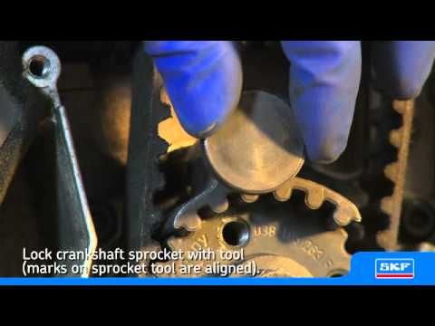 SKF - Installing an SKF Timing belt kit with water pump VKMC 01250-1 VKMA 01250: 038 198 119 A, 038 198 119 C VKPC 81626: 038 121 011 J, 03L 121 011 B VKPC 81626: ...