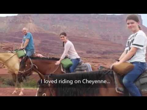 Road trip USA part 8 - Horseback riding