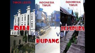 Download Video Dili City (Timor Leste) Vs Kupang City (NTT) Vs  Jayapura City (Papua).....Waw!!!!!! MP3 3GP MP4