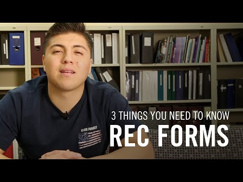 3 Things You Need To Know About The EOP Recommendation Forms