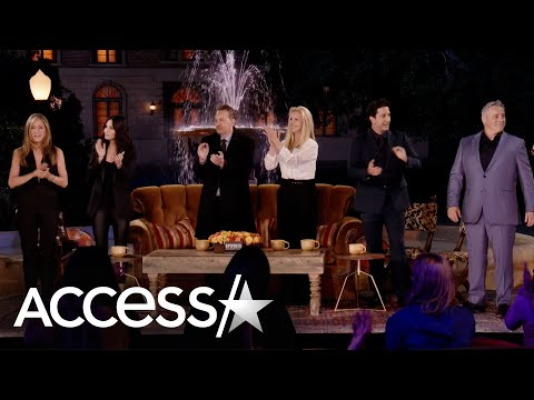 'Friends' Cast Emotional In Sneak Peak Of HBO Max Reunion