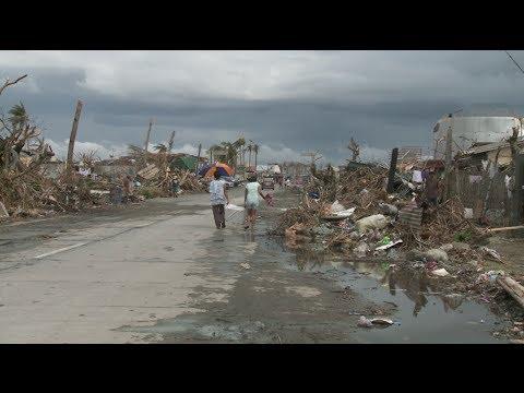 الفلبين: مدينة تالكوبان المنكوبة
