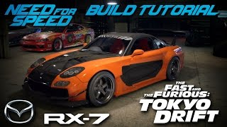 Nonton Need for Speed 2015 | Tokyo Drift Han's Mazda RX7 Build Tutorial | How To Make Film Subtitle Indonesia Streaming Movie Download