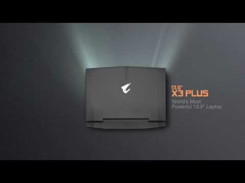 "AORUS X3 Plus - World's Most Powerful 13.9"" Laptop"