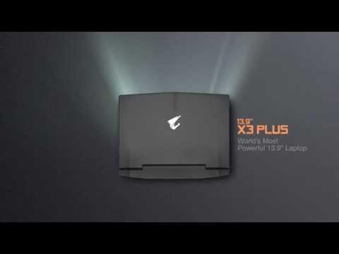 "AORUS X3 Plus - World's Most Powerful 13.9"" Laptop"