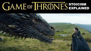 How Game of Thrones can teach you Stoicism I am a big fan of Game of Thrones and stoic philosophy, so I have analysed the...