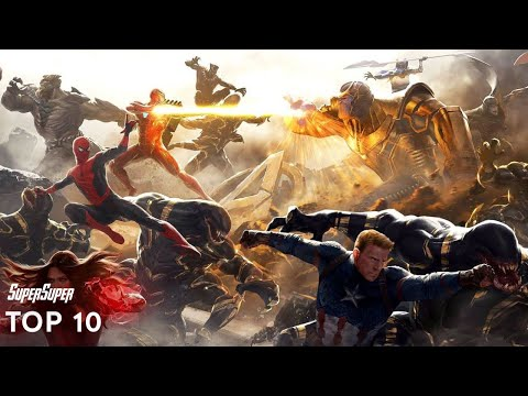 Top 10 Superheroes with Best Entries | SuperSuper